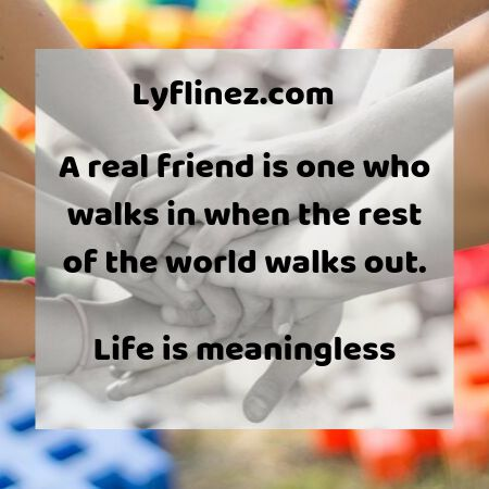 We all need real friends