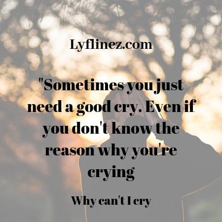 I CAN'T CRY: 11 LOGICS WHY & 10 METHODS TO MAKE YOURSELF CRY