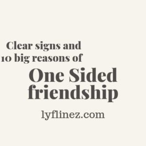 one sided friendship-pink background